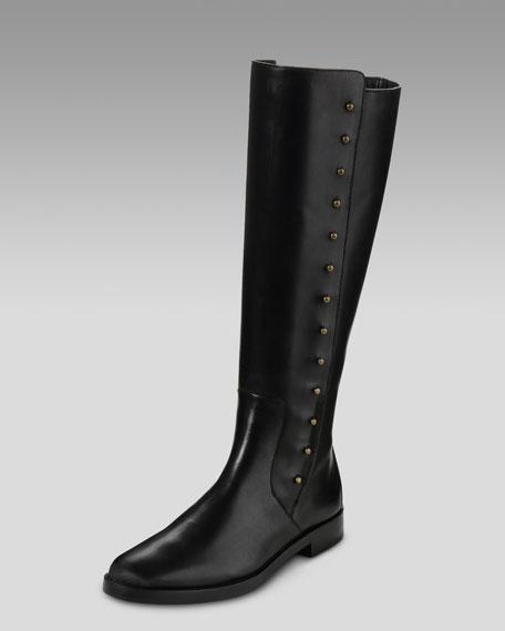 Brooklyn Stud Mid-Calf Boot