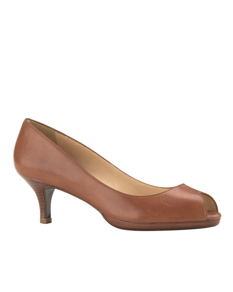 Carma Air Open-Toe Pump, Woodbury