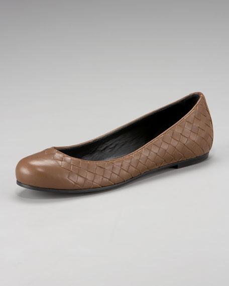 Woven Ballerina Flat