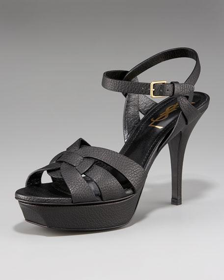 Tribute Low-Heel Sandal