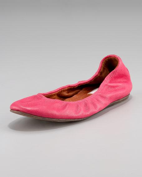 Classic Leather Ballerina Flat