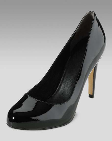 Air Violet High Pump, Black