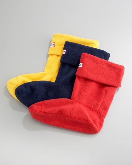 Fleece Welly Sock