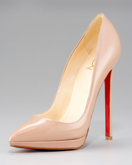 Patent Pointed-Toe Pump