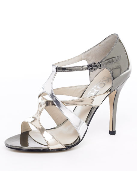 Sasha Metallic Sandal