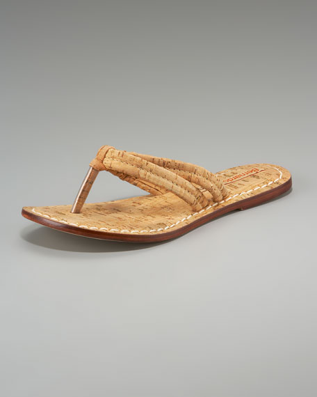 Cork Thong Sandal
