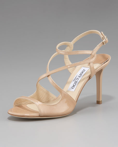 Paxton Strappy Patent Sandal