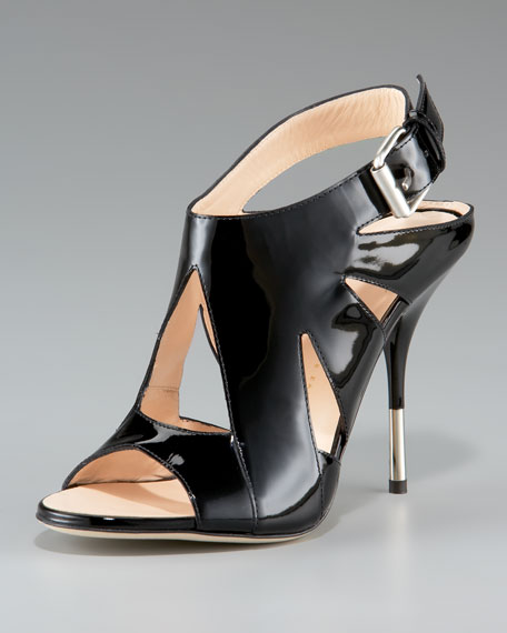 Cutout Stiletto Slingback