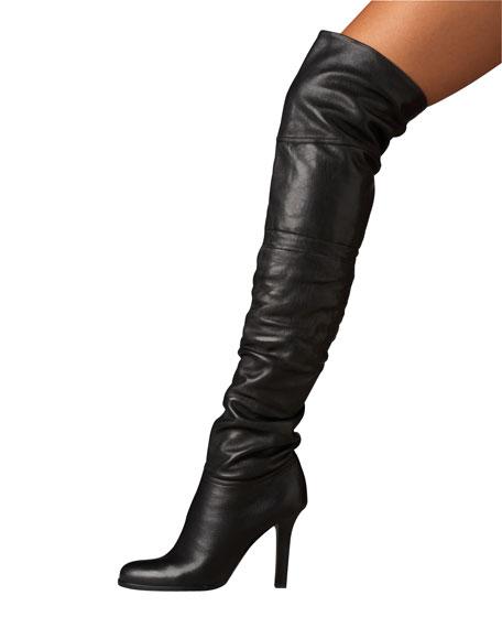 OTK Calf Leather Boot