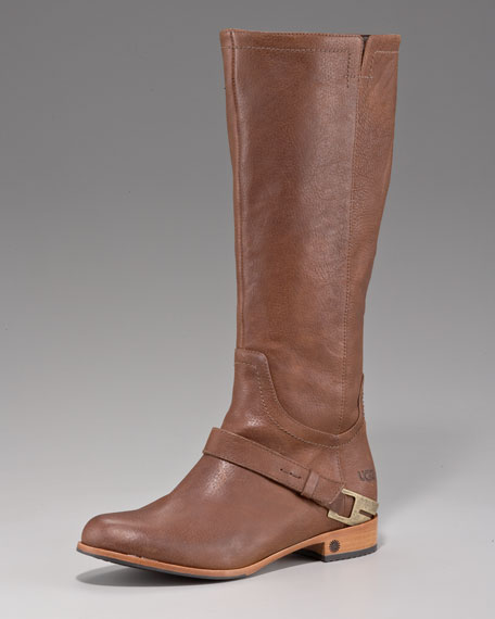 Channing Leather Riding Boot