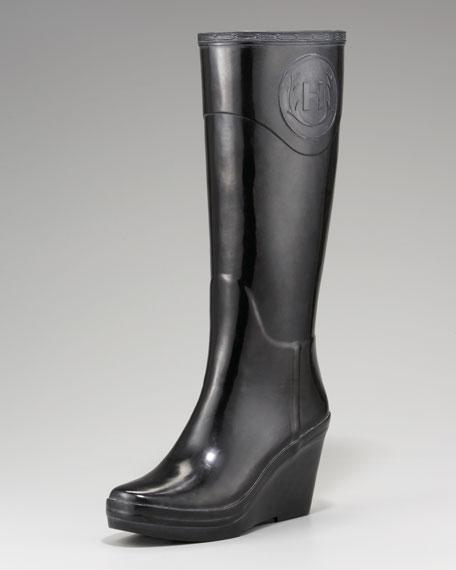 Crest Wedge Rain Boot