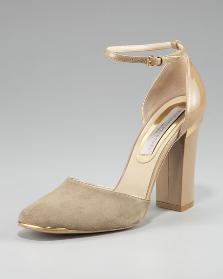 Ankle-Strap d'Orsay Pump