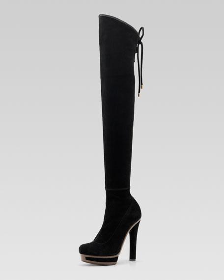 Alyona High-Heel Over-The-Knee Boot