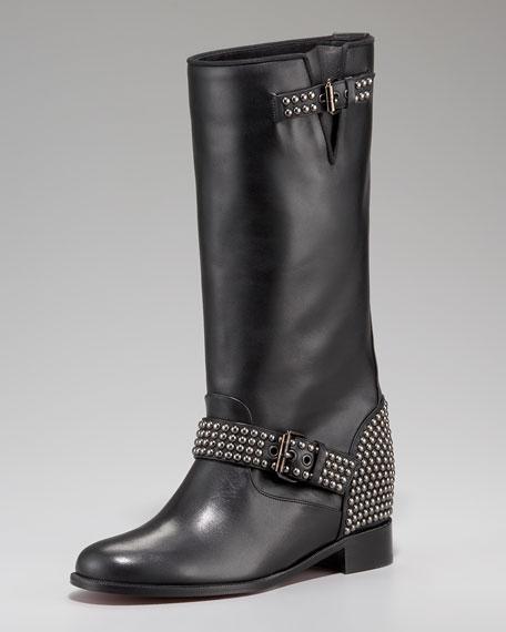 Christian louboutin studs boots sale