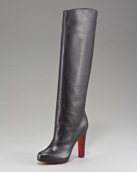Platform Knee Boot