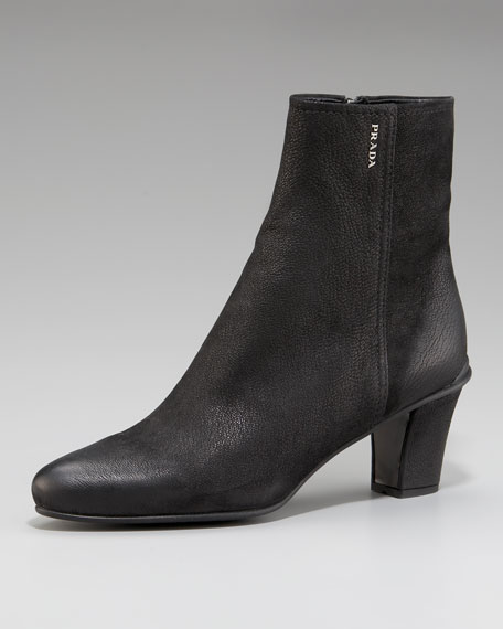 Exclusive Zip-Up Ankle Boot