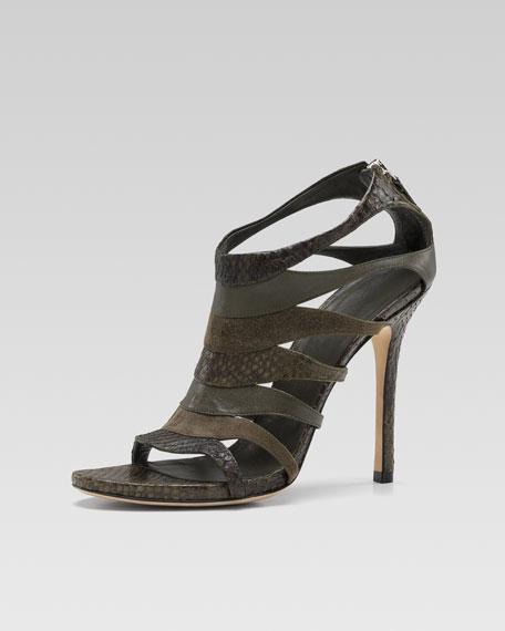 Gucci Soraya Ribcage Sandal