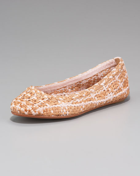 Emma Woven Ballerina Flat