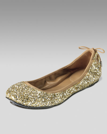 Air Bacara Glittered Ballerina