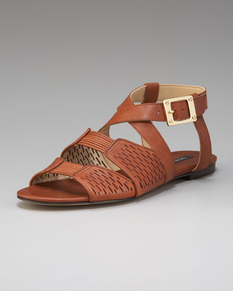 Flat Cutout Sandal