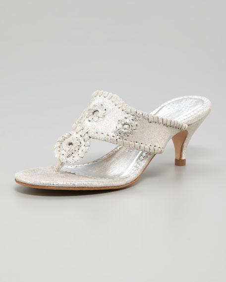 Marina Shimmery Sandal