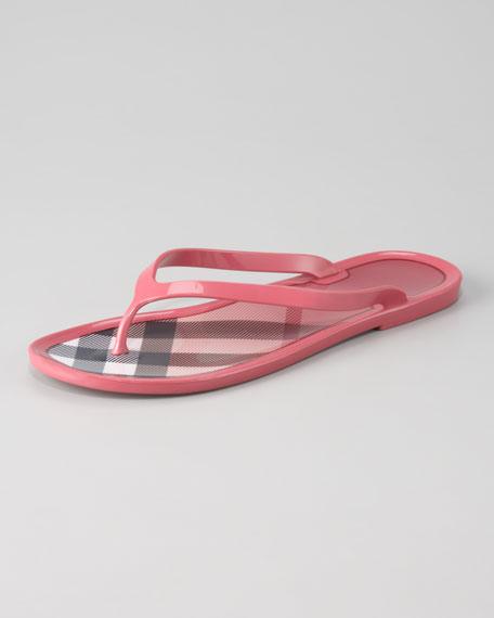 Jelly Thong Sandal