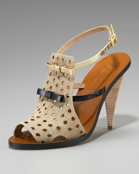 Perforated Jute Sandal