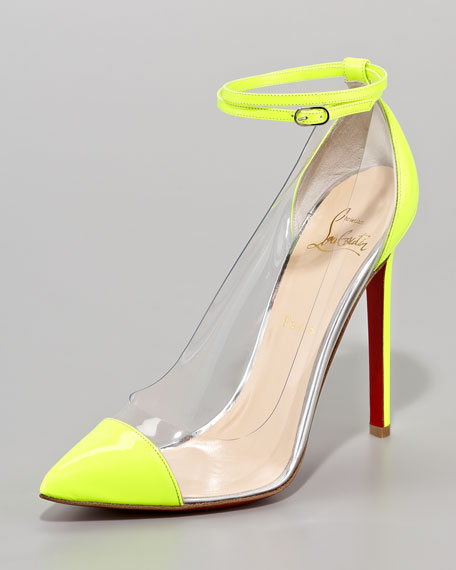 Unbout Illusion Red Sole Pump