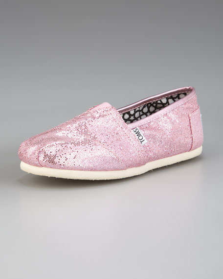 Classic Glitter Slip-On