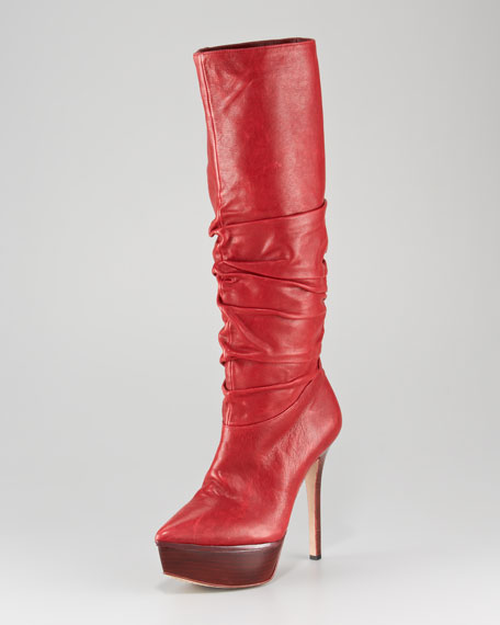 Webber Ruched Knee Boot