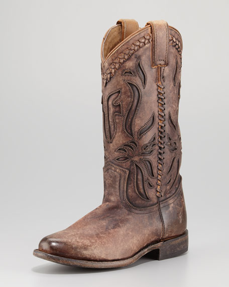 Wyatt Overlay Antique Boot