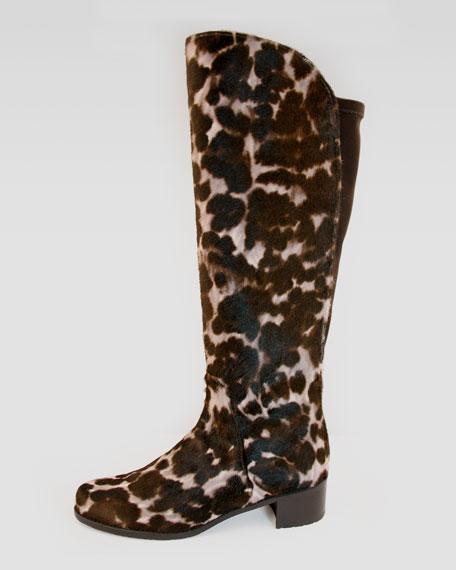 Calf Hair Knee Boot