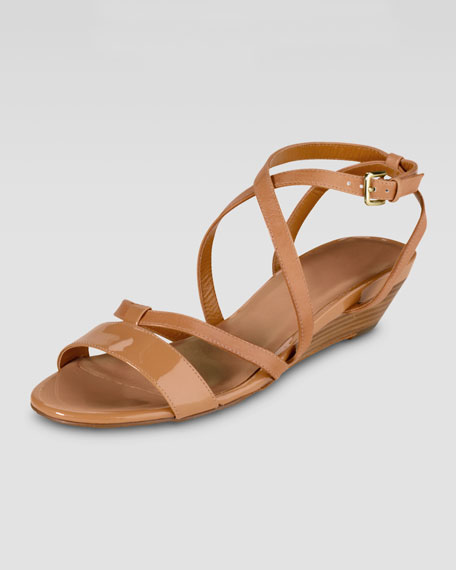Air Kierin Low-Wedge Sandal