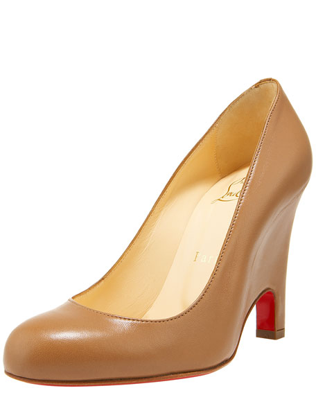 Morphing-Red Sole Wedge Pump