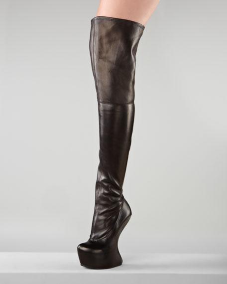 Over-the-Knee No-Heel Boot