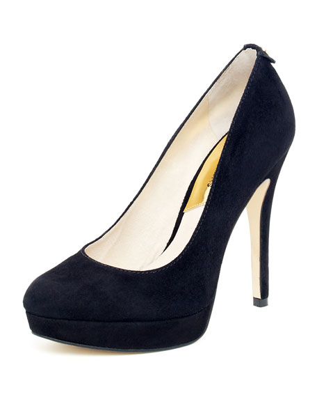 York Suede Pump