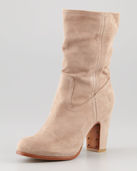Mirabelle Short Suede Boot