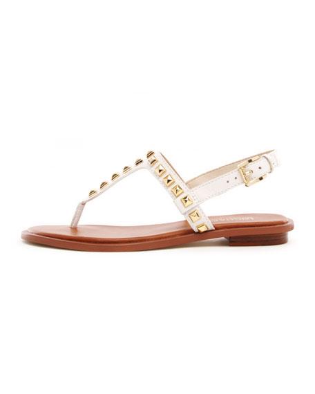 Alexi Studded Flat Sandal