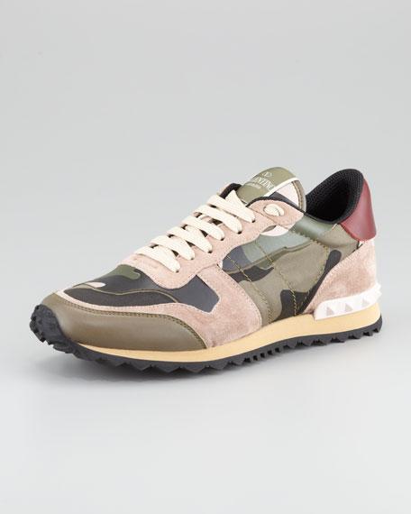 valentino sneaker camouflage aufladen und. Black Bedroom Furniture Sets. Home Design Ideas