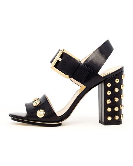 Linden Bubble-Stud Sandal
