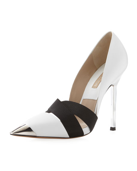 Ana Cap-Toe Pump