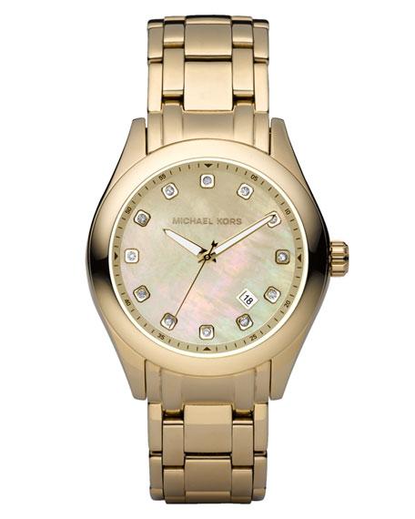 Shiny Golden Watch