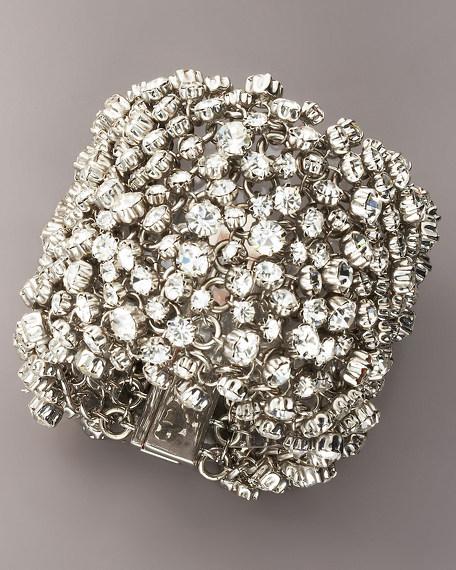 Crystal Shag Bracelet