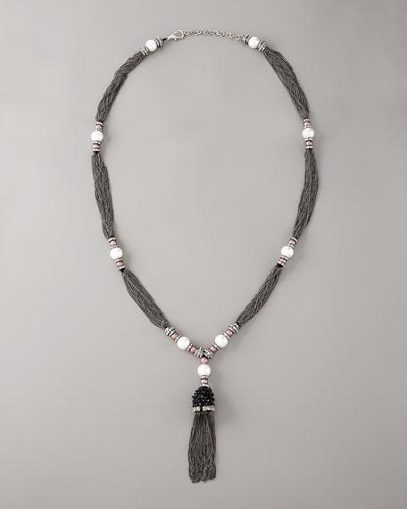 Oscar de la Renta Pearl-Pendant Necklace