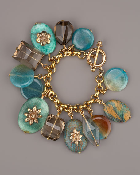 Turquoise Pebble Bracelet