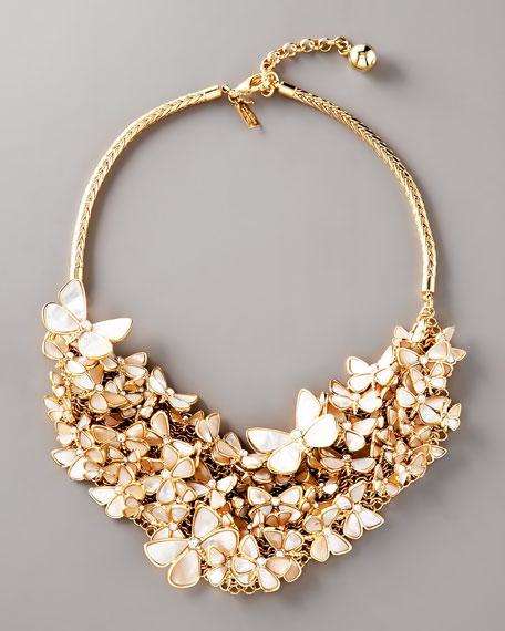 Butterfly Bib Necklace