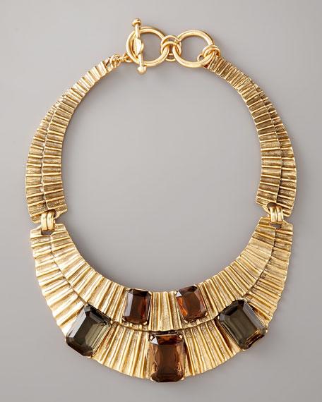 Smoky Glass Necklace