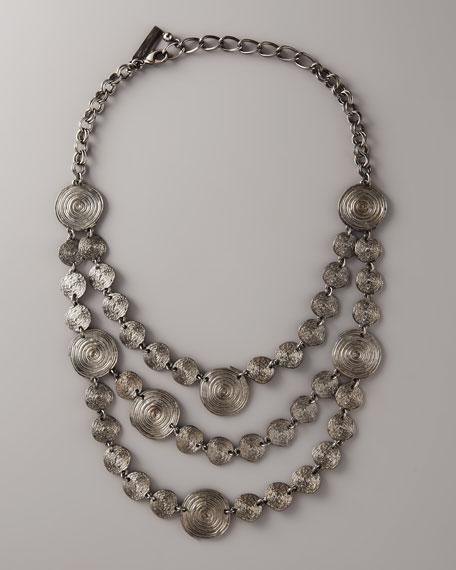 Disc-Bib Necklace