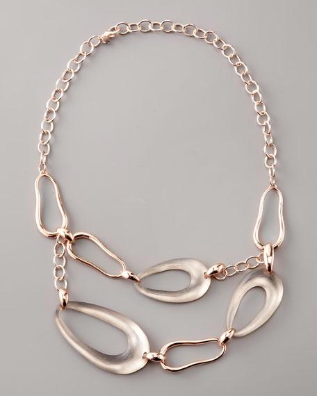 Flora Rose Gold Necklace
