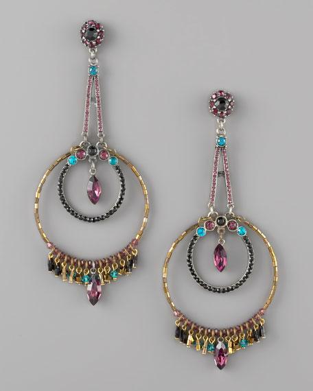 Bead-Fringe Earrings